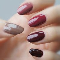 Wholesale YaoShun Wine Red serial uv nail gel polish ml Glitter Rose Pink Red Bling d soak off gel polish color for choose