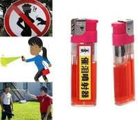 Wholesale lighter Self Defense Device Personal Security ML Pepper Spray Women Men defender defensive perfume sprayer Free Scarf