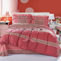 Wholesale Cotton Adult kids Bedding set d bed sets comforter Luxury with Duvet quilt cover bed sheet Pillowcase for All Size Textile