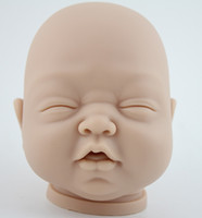 Wholesale DIY Kit Reborn Baby Dolls Kits Handmade Silicone Vinyl Head Arms And Legs For Inch Lifelike Doll Accessories