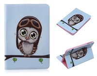 beautiful giraffe - New brand design Pu Leather Cover tablet For IPad Mini Lovely Cute Owl Giraffe beautiful Batterfly Pattern Magnetic Cases