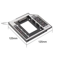 bay for sale - Newest Store mm for Laptop CD DVD ROM ODD Universal SATA nd HDD SSD Hard Drive Caddy Optical Bay Hot Sale