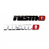 Wholesale Automobile Accessories Car Body Design Styling Stickers With Nismo Logo Grille Emblem Badge Brands