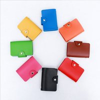 Wholesale Women s Leather Credit Card Holder Colors Credit Card Wallet Hot on Sale