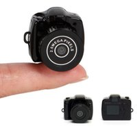 Wholesale Y2000 Mini Camera HD Micro Camera Digital Mini DVR camera photo Hidden Voice Recorder Camcorder Camara Espia Caneta Espiao