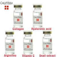 Wholesale cautissa argireline snail extract collagen serum vitamin c serum plant extract hyaluronic acid serum face