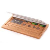 apple laptop holder - Luxury Birch Wooden Stand Wood Keyboard Holder Set For Apple iPhone iPad Macbook Laptop Bluetooth Keyboard