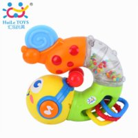 battery toy train - New Electronic Musical Insert Puzzle Kids Educational Toy Children Fingers Flexible Training Science Flashing Twisting Worm Toys