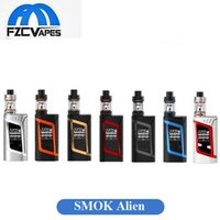 advanced kit - Authentic SMOK Alien W Kit E Cigarette Advanced Vaper Starter Kit Watt TC E Cig Kit Dual