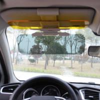 Wholesale HD Car Sun Visor Goggles For Driver Day amp Night Anti dazzle Mirror Sun Visors Clear View Dazzling Goggles Interior Accessories