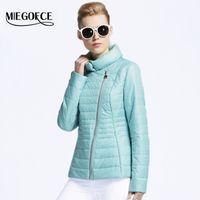 Fashion adjustable hot short - MIEGOFCE New Spring short Jacket Women Coat bomber Thin Cotton Padded Outwear Fashion Warm Ladies s Clothing Hot Selling