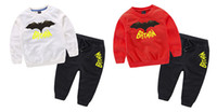 Wholesale 2017 autumn baby boy clothes Long sleeve Top pants sport suit baby clothing set newborn infant clothing