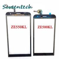ASUS   100% Original New Touch Screen With Digitizer For ASUS Zenfone2 ZE551ML ZE551ML ZE550KL ZE500KL Glass Panel Black Replacement Parts