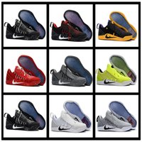Men ads size - 2017 New Mens KOBE A D NXT Men KB Volt White Black AD WOLF GREY Zoom Sport Shoes discount Cheap Basketball Shoes Colours size