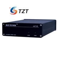 Wholesale mAT H HF Auto tuner W AUTO TUNER Automatic Antenna Ham Radio For Yeasu