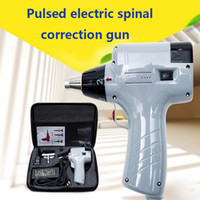 Wholesale 800N adjustable intensity Therapy Chiropractic Adjusting Instrument Activator Massager intelligence Electric Correction Gun