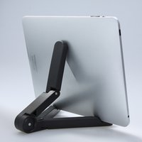 Wholesale Cobao Portable Foldable Tablet Stand Holder for Apple iPad Mini Kindle Other to inch Tablets Durable ABS PC Material