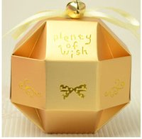 Cheap 50pcs Lot Wedding Favors And Gifts Box Festive & Party Supplies Christmas Paper Candy Box Baby Shower Gifts