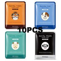 aloe mask sheet - Animal Face Mask South Korea Facial Mask Moisturizing Whitening Oil Control Face Care g Animals Types