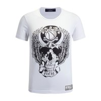 basketball logo designs - Hot Sale Trend New Best Price Exclusive New Design Men s Basketball Skull Angel Logo Shorts Sleeve T Shirts Tees