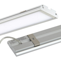 Wholesale Simple Design LED Panel Light ft mm W batten Tube shaped surface mounted ceiling lamp High brightness Lm Aluminum shell AC85 V