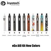 Authentique Joyetech eGo AIO Kits de démarrage rapide 1500mAh batterie 2.0ml Childproof Tank Lock Tout-en-un style Appareil