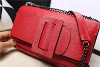 Wholesale New high end genuin leather shoulder bags toothpick pattern cowhide bags fashion all match flap bags