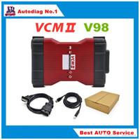 achat en gros de ford unique-2017 V98 VCM II IDS Outil de diagnostic vert unique Carte Pour Ford / Mazda VCM 2 VCM2 OBD2 Scanner Livraison gratuite