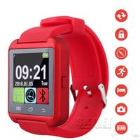 Bluetooth Smartwatch U8 Regarder Montres Montres Smart Watch Pour iPhone 6 6S Plus Samsung S7 bord Note 5 Téléphone Android HTC avec forfait au détail