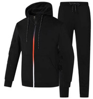 Wholesale outdoor tracksuit men jackets pants mens hoodies and sweatshirts men s sports suits tracksuits sportswear