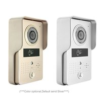 bell intercoms - Wireless Wifi Video Intercom Door Bell System with Mini Bell and ID Keyfobs Wireless Visual intercom Video door phone doorbell