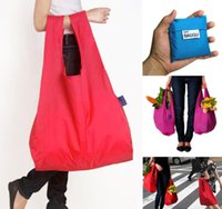 Wholesale Cheap Safes Wholesale Price - Cheap Price Baggu Tote Bags New Candy Colors Reusable Shopping Bag Portable Folding Pouch Lunch Bag Purse Handbag Enviorment Safe Go Green