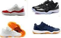 authentic designer shoes - Retro Basketball Shoes Mens Bred Citrus Concord Bred Georgetown GS Sneakers Designer Low Retro XI s For Men Real Authentic Quality