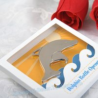 Wedding wholesale giveaways - wedding favor gift and giveaways for guest Beach party Adorable Dolphin Bottle opener party souvenir