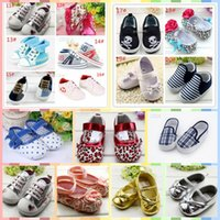 Wholesale 20types Fashion Baby Shoes Prewalkers First Walkers Footwear Baby shoes kids shoes Infant Toddler Boy s Newborn Shoes baby moccasins