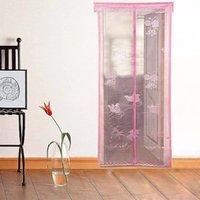 Estilo de verano anti Mosquito Insecto pantalla de la cortina de la puerta Mosquitero magnético de mosquito ventana 2017 Nueva llegada 5 piezas