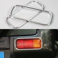 H11 all Suzuki 1 Pair Suzuki Jimny Rear Fog Light   Tail Fog Light Lamp Cover,Rear Fog Lights Cover Ring ABS Exterior Accessories Car Sticker For Suzuki
