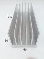 aluminium profile china - Customized most welcomed new design China hot sale Electrophoretic coating heat sink aluminium extrusion profile Aluminum Radiator