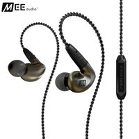 audiophile cables - Authentic MEE Audio MEElectronics Pinnacle P1 Audiophile Bass HIFI DJ Studio Monitor Music In Ear Earphones w Detachable Cable
