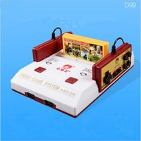 Wholesale New TV Video Game Console FCompact Classic Family TV Game Player jeux juegos Game Cards Send With Retail Box