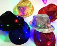 Wholesale Hot Sale Led Hat LED Unisex Lighted Up Hat Glow Club Party Baseball Hip Hop Jazz Dance Led Llights Led Hat Caps
