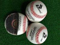 Wholesale 9 quot Handmade Baseballs PVC Upper Rubber Inner Soft Baseball Balls Softball Ball Training Exercise Baseball Balls