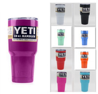 silver tray - Yeti Cup Stainless Steel Tumbler oz Cup Gold Pink Purple Light Blue Light Green Silver Lime Green Color In Stock