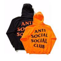 Wholesale Men Women Clothing Tops Sweatshirts AntiSocial Social Club Hoodie Anti Social Social Club Hooded Sweatshirts Men