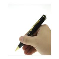 Acheter Mini-enregistrement vidéo-Mini Pen Cam Video Enregistrement Caméra Stylo Pinhole Recorder Mini Pen Camcorder Hidden Security Surveillance DVR