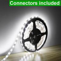 Wholesale LE ft LED Flexible Strip Lights Units SMD LEDs V DC Non waterproof Light Strips LED ribbon For Garden Home Kitchen Car B