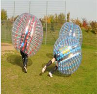 al por mayor zorbing zorb-1.5M pvc inflable cuerpo de bola de parachoques Zorbing bola Zorb Bubble fútbol de fútbol Zorb bolas humanos burbuja de fútbol