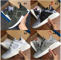 Wholesale 2017 New NMD XR1 XR3 Fall Olive green Sneakers Women Men Youth nmd Shoes runner boost price