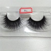 beauty free silks - 100 handmade real korean silk fiber false eyelash D strip fake lashes thick eyelashes Makeup beauty for