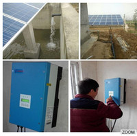 Wholesale 2017 yeat hot sale Solar Energy System Solar Water Pumping System for Agriculture KW HP years warranty IP65 with CE Certificate